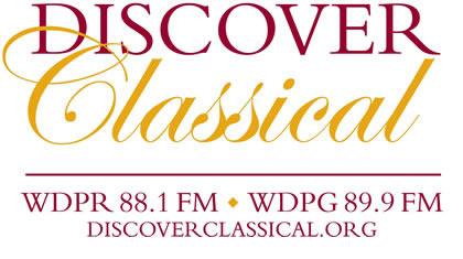 Discover Classical WDPR 881 FM WDPG 899